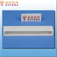 STCERA Structure Ceramics parts Insulation Washer polished alumina ceramic substrate