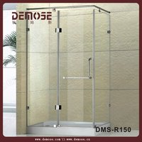 plastic shower cubicles for corner with low price