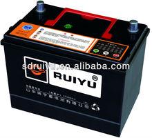 Japan Quality Good PP Material N60MF Car Parts Lead-acid Battery