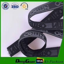 2015 various pattern custom jacquard elastic webbing for underwear with wholesale