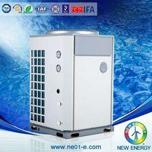 heat and cool super big heat exchanger air source heat pump 30kw multifunction