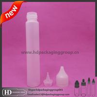 pen shape pe e liquid bottle 30ml/e-vapor e liquid unicorn bottles 1oz/bottles plastic for ecigarette