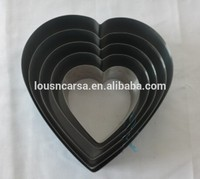 5 PCS of heart-shaped cake mould
