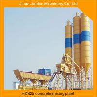 precast portable 25m3/h mini mix concrete batching plant for sale