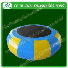inflatable water trampoline, inflatable floating water park, inflatable water park games (Running Fun)