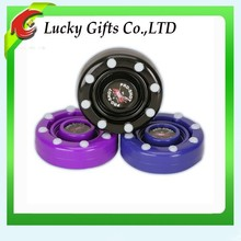 New Product Printed Silicone Rubber Street Hockey Puck for Crafts
