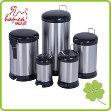 Standing Structure and PP,SS410# lady sanitary Stainless Steel waste bin china supplier /GYPB030