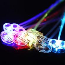 Cheap Flashing light up LED blinking braid for night party/wedding SJ-LHB018