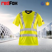 reflective safety women t-shirt blank