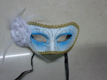 Party beautiful carnival feather mask for party decoration MSK177