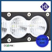 30w crees offroad led light bar Wholesale Single row 30W Car LED Light bar for Truck Straight LED Driving Light bar