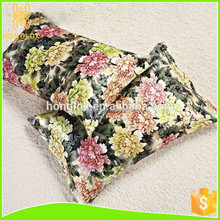 colorful luxury decorative pillow case