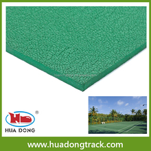 SGS no smell volleyball court sport flooring used indoor