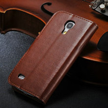 2014 New arrival products for samsung s4 mini leather case