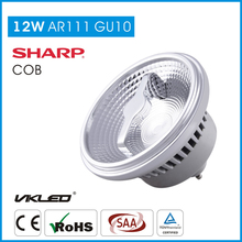home use Led AR111 GU10 10W Beam Angel 8 50W Halogen Replacement