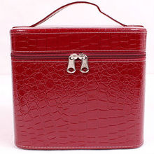 lady bag cooler box designer handbag crocodile tote bag cosmetic bag E655