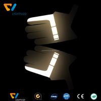 3M Reflective Glow in the Dark Gloves