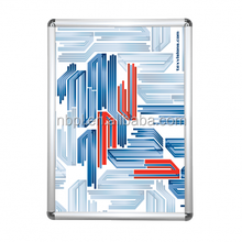 Anodised silver front open poster snap frame A0.A1.A2.A3.A4 poster display frame