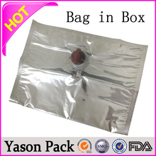 Yason bag in box for juice 5l bag in box wine in bib