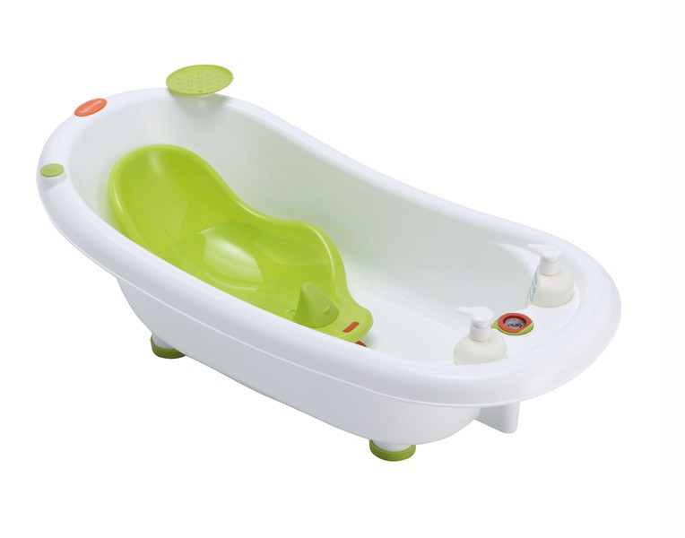 baby bath tub plastic strata large plastic baby bath tub duck teal ebay you are not authorized. Black Bedroom Furniture Sets. Home Design Ideas