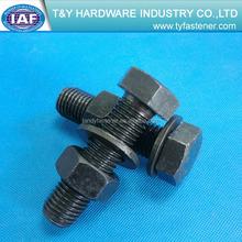 Óxido negro tornillo hexagonal DIN933 class10.9