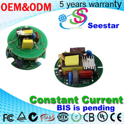 3/5 years warranty 25W 400mA Round Shape LED Driver constant current for Corn E40 light