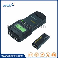 Cable tester with LCD monitor