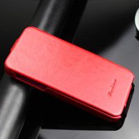 slim magnet leather flip case for iPhone 5s