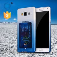 hot sell Colorful tpu feel good slim 0.5mm tpu case for samsung a3 a5 a7