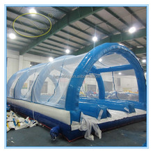 Hot-selling outdoor wedding big PVC clear inflatable bubble tent