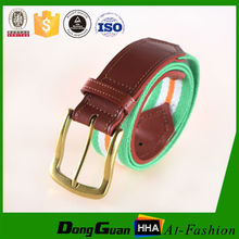 Fashion Boys Waistband Unisex Casual Canvas Men's Plain Webbing Belt