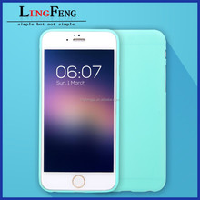 soft silicone tpu mobile phone case for iphone 6 ,new design of luxury tpu case for iphone 6