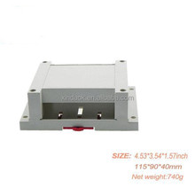 din rail plc enclosure,din rail plastic enclosure for cover,din rail module enclosure for housing