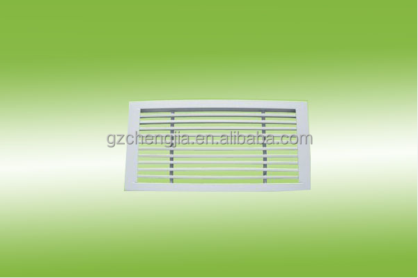 Air conditioner linear bar stainless steel diffusers