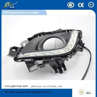 Factory High power Auto LED DRL Top quality Led car light for Mazda 6 With Foglight 2014-2015 LED Daytime Running Light
