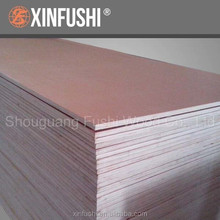 Red okoume plywood for philippines market