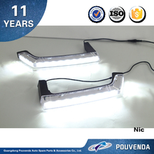 Daytime running light For Jeep Wrangler JK 07+ LED Work Light DRL with turn light Auto accessories from pouvenda