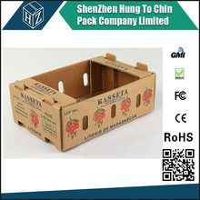 Strong recycleable corrugated mangoes packaging box