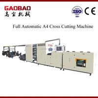 High Quality Full Auto A4 Ppaer Cutting Machine Price Durable High Performance High presicion