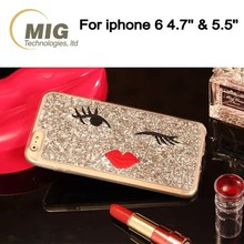 High quality sexy red lip mobile phone tpu case/ cover for iphone 6/ 6s 4.7 inch and for iphone 6plus/ 6s plus 5.5 inch 5 colors