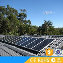 Solar equipment on grid 15kw solar mounting system with low solar cell price