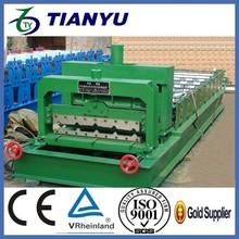 China manufacture Best Metal/Aluminum Roof Tile Making Machine Price