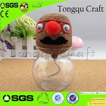 Cute art and craft for waste materials gifts wholesale christmas craft supplies Christmas Decoration art and craft for children