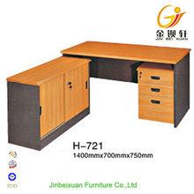 L-Shape Hutch Ergonomic Wooden Study Table Designs