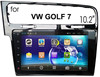 "(for VW Golf 7) 10.2"" HD digital in-dash android car GPS DVD player, with TV,radio, bluetooth, iPOD"