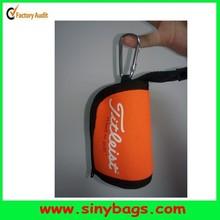 High quality golf ball pouch with a hook, golf ball holder, golf ball case