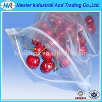 OEM design plastic pe bags for food with ziplock