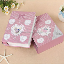 factory custom paper cardboard cover pp sheet handmade paper photo album from manufacturer