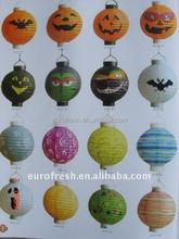 pumpkin lamp/collapsible paper lantern for Hallowen decoration