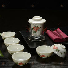 birthday gift idea Brand new crystal tea set chinese tea newest porcelain japanese porcelain tea setunique top grade gifts
